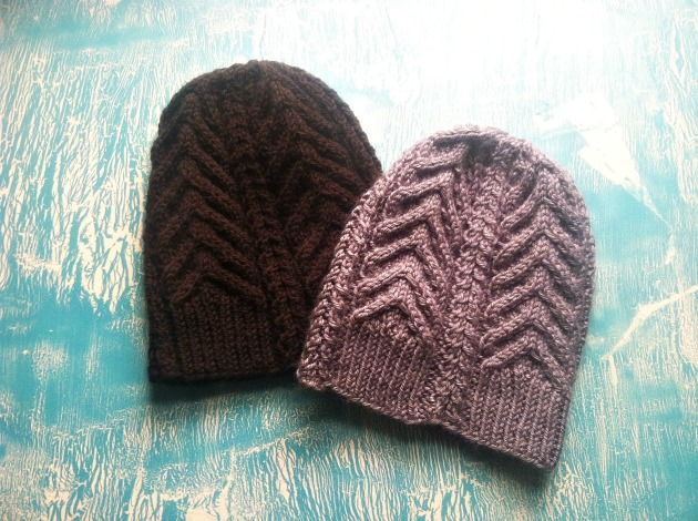Dark Fall - The Hat Knit Pattern